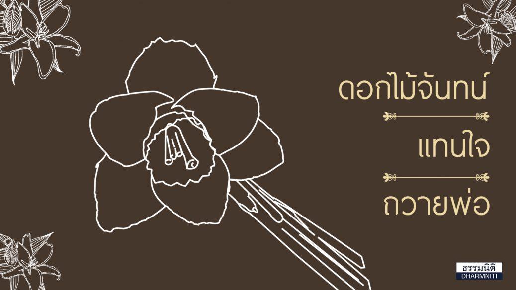 ความหมายดอกไม้จันทน์