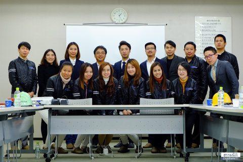 Dharmniti Young Executive รุ่น 1 คณะ 1 กับการดูงาน ณ โอซาก้า ประเทศญี่ปุ่น
