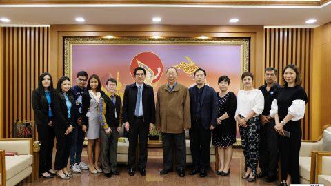 ทีมงานธนาคารกรุงไทยมาเยี่ยมธรรมนิติ