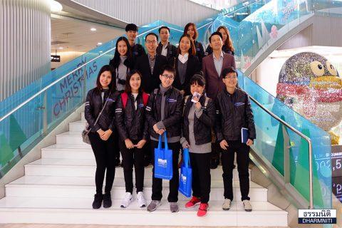 Dharmniti Young Executive รุ่น 1 คณะ 2 กับการดูงาน 3 บริษัทยักษ์ใหญ่ของจีน Tencent, Hytera และ Huawei