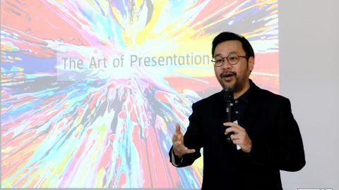 กลุ่มบริษัทธรรมนิติ จัดโครงการเพื่อพัฒนาศักยภาพของพนักงานในหัวข้อ The Art of Presentation โดยคุณประสงค์ รุ่งสมัยทอง