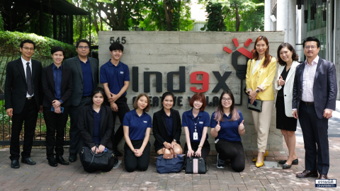 Dharmniti Young Executive รุ่นที่ 3 ดูงานที่ Index creative village