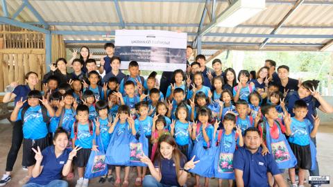 """กลุ่มบริษัทธรรมนิติ ร่วมทำความดี จัดโครงการ CSR """"มอบทุนแก่โรงเรียนที่ชัยภูมิ"""""""