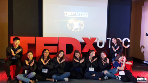 Dharmniti Young Executive และพนักงานธรรมนิติ ร่วมงาน TEDxUTCC 2019