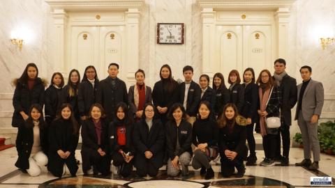 คณะ Dharmniti Young Executive (DYE) รุ่นที่ 3 กับการดูงาน ณ ปักกิ่ง-เทียนจิน ประเทศจีน