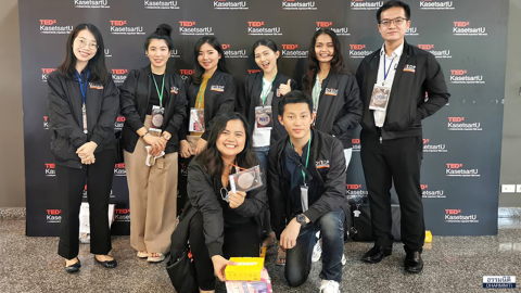 Dharmniti Young Executive รุ่น4 ร่วมงาน TEDxKasetsartU 2020